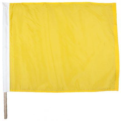 "IRM-110 24"" x 30"" Caution Nylon Auto Racing Flag-0"
