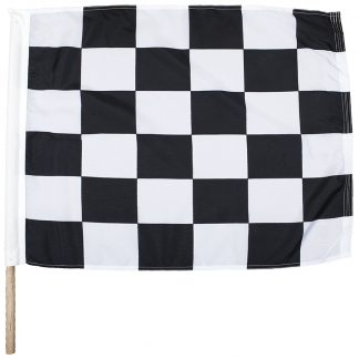 "IRM-135 24"" x 30"" End of Race Nylon Auto Racing Flag-0"