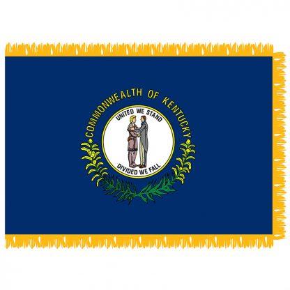 SFI-204-KENTUCKY Kentucky 4' x 6' Indoor Flag-0