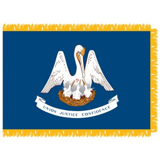 SFI-204-LOUISIANA Louisiana 4' x 6' Indoor Flag-0