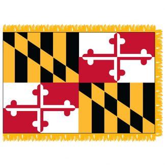 SFI-204-MARYLAND Maryland 4' x 6' Indoor Flag-0