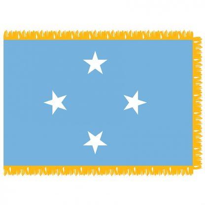 SFI-203-MICRONESIA Micronesia 3' x 5' Indoor Flag-0