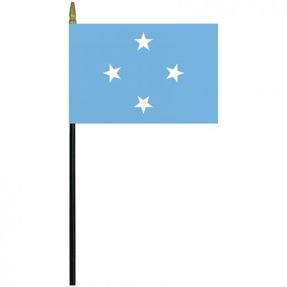 """MRF-46-MICRONESIA Micronesia 4"""" x 6"""" Staff Mounted Rayon-0"""