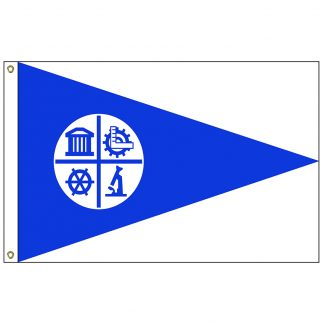 CF-5X8-MINNEAP Minneapolis 5' x 8' Nylon Flag with Heading and Grommets-0