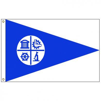 CF-4X6-MINNEAP Minneapolis 4' x 6' Nylon Flag with Heading and Grommets-0