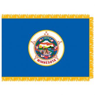 SFI-204-MINNESOTA Minnesota 4' x 6' Indoor Flag-0
