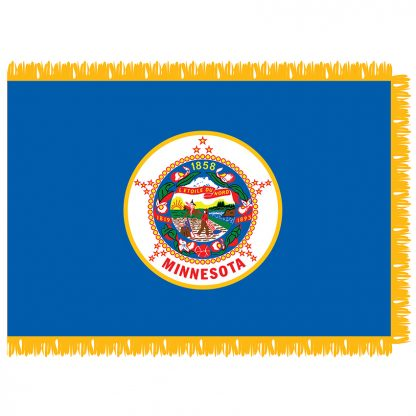 SFI-203-MINNESOTA Minnesota 3' x 5' Indoor Flag-0