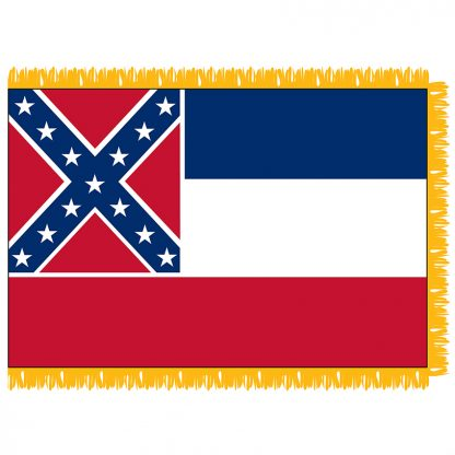 SFI-204-MISSISSIPPI Mississippi 4' x 6' Indoor Flag-0