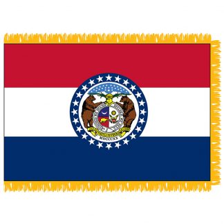 SFI-204-MISSOURI Missouri 4' x 6' Indoor Flag-0
