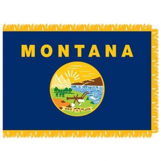 SFI-204-MONTANA Montana 4' x 6' Indoor Flag-0
