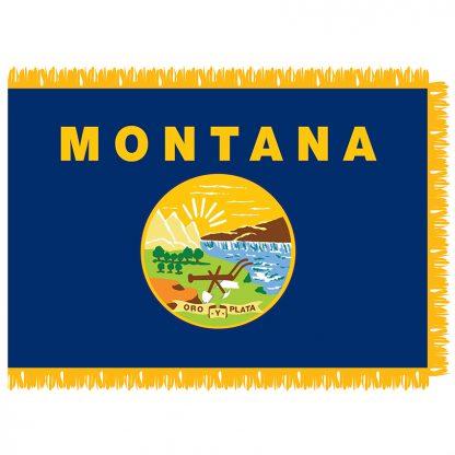 SFI-203-MONTANA Montana 3' x 5' Indoor Flag-0