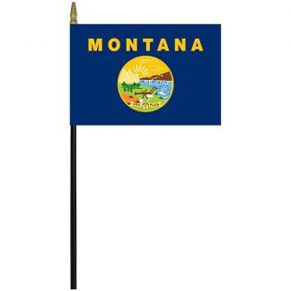 "MRF-46-MONTANA Montana 4"" x 6"" Staff Mounted Rayon-0"