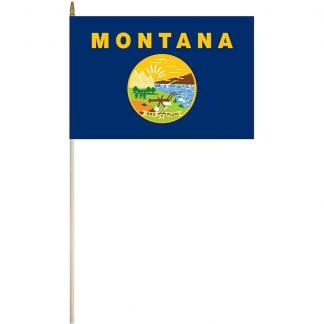 """EPC-1218-MONTANA Montana 12"""" x 18"""" Stick Flag-0"""