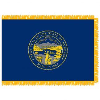 SFI-204-NEBRASKA Nebraska 4' x 6' Indoor Flag-0