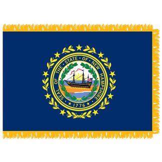 SFI-204-NEWHAMPSHIRE New Hampshire 4' x 6' Indoor Flag-0