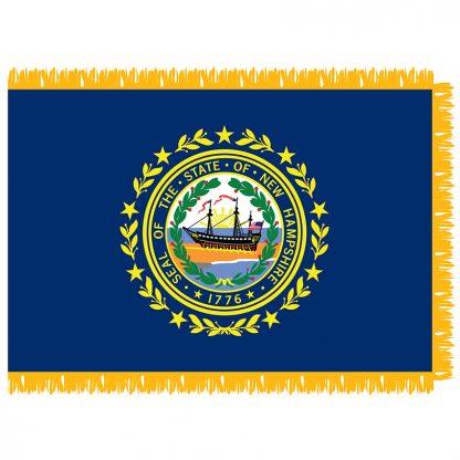 SFI-203-NEWHAMPSHIRE New Hampshire 3' x 5' Indoor Flag-0