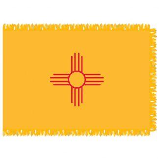 SFI-203-NEWMEXICO New Mexico 3' x 5' Indoor Flag-0