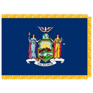 SFI-204-NEWYORK New York 4' x 6' Indoor Flag-0