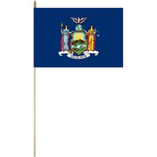 "EPC-1218-NEW YORK New York 12"" x 18"" Stick Flag-0"