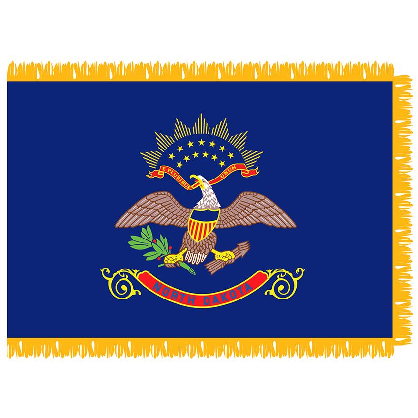 Sfi 203 Ndakota North Dakota 3 X 5 Indoor Flag Hanover Flag Company