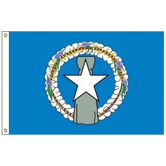 SF-103-NMARIANAS Northern Marianas 3' x 5' Nylon Flag-0