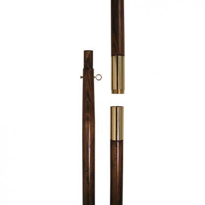 "OPP-115 Oak Hardwood Pole 9' x 1.25""-0"