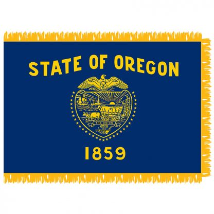 SFI-204-OREGON Oregon 4' x 6' Indoor Flag-0