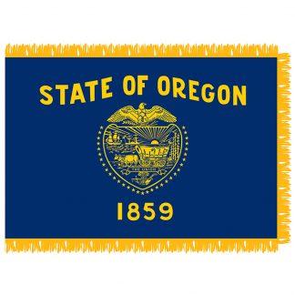 SFI-203-OREGON Oregon 3' x 5' Indoor Flag-0