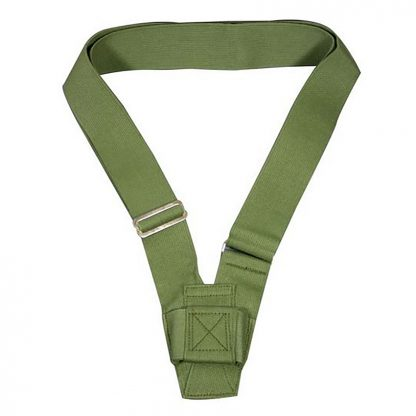 PCB-140 Single Harness Carrying Belt, Olive Webbing -0