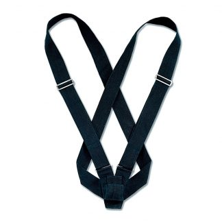 PCB-155 Double Harness Carrying Belts, Black Webbing-0