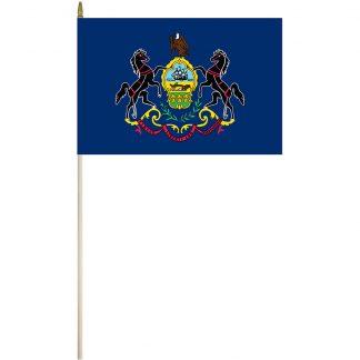 """EPC-1218-PENNSYLVANIA Pennsylvania 12"""" x 18"""" Stick Flag-0"""