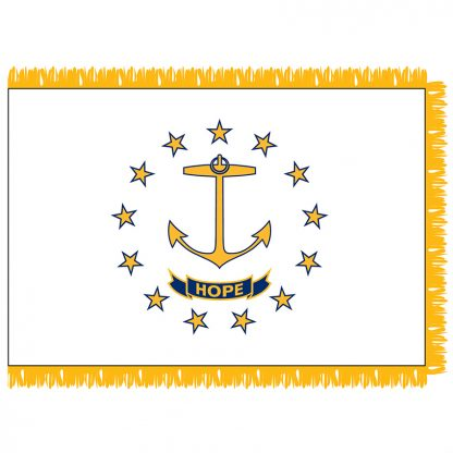 SFI-204-RHODEISLAND Rhode Island 4' x 6' Indoor Flag-0