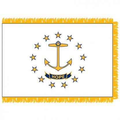SFI-203-RHODEISLAND Rhode Island 3' x 5' Indoor Flag-0