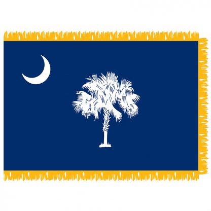 SFI-204-SCAROLINA South Carolina 4' x 6' Indoor Flag-0