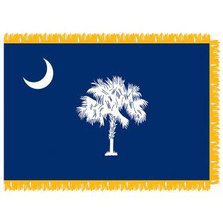 SFI-203-SCAROLINA South Carolina 3' x 5' Indoor Flag-0