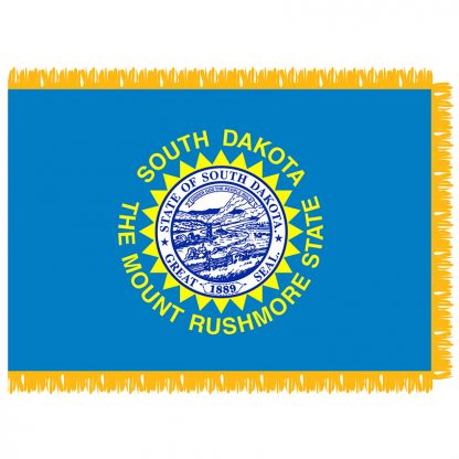 SFI-204-SDAKOTA South Dakota 4' x 6' Indoor Flag-0