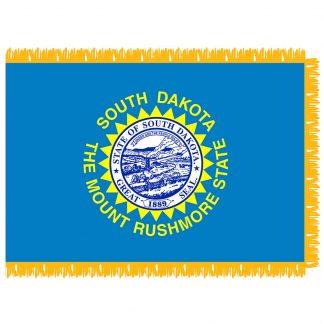 SFI-203-SDAKOTA South Dakota 3' x 5' Indoor Flag-0