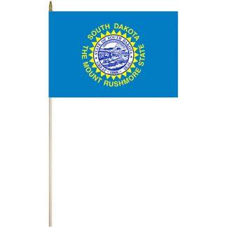 "EPC-1218-SOUTHDAKOTA South Dakota 12"" x 18"" Stick Flag-0"