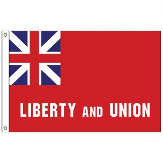 HF-430 Taunton 3' x 5' Outdoor Nylon Flag with Heading and Grommets-0