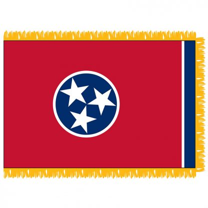 SFI-204-TENNESSEE Tennessee 4' x 6' Indoor Flag-0