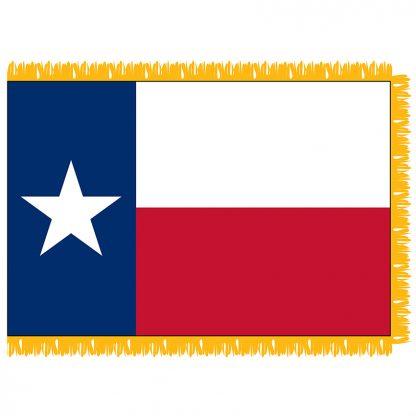 SFI-203-TEXAS Texas 3' x 5' Indoor Flag-0