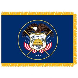 SFI-204-UTAH Utah 4' x 6' Indoor Flag-0