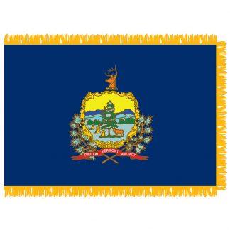 SFI-204-VERMONT Vermont 4' x 6' Indoor Flag-0
