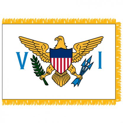 SFI-204-USVIRGINISLA U.S. Virgin Islands 4' x 6' Indoor Flag-0