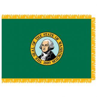 SFI-203-WASHINGTON Washington 3' x 5' Indoor Flag-0