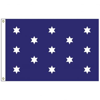 HF-433 Washington's Commander in Chief 3' x 5' Outdoor Nylon Flag with Heading and Grommets-0