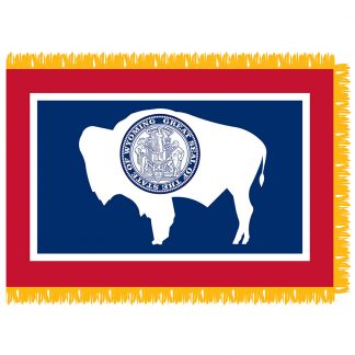 SFI-204-WYOMING Wyoming 4' x 6' Indoor Flag-0