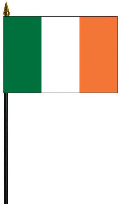 "MRF-46-IRELAND Ireland 4"" x 6"" Staff Mounted Rayon-0"