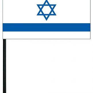 "MRF-46-ISRAEL Israel 4'' x 6"" Staff Mounted Rayon-0"