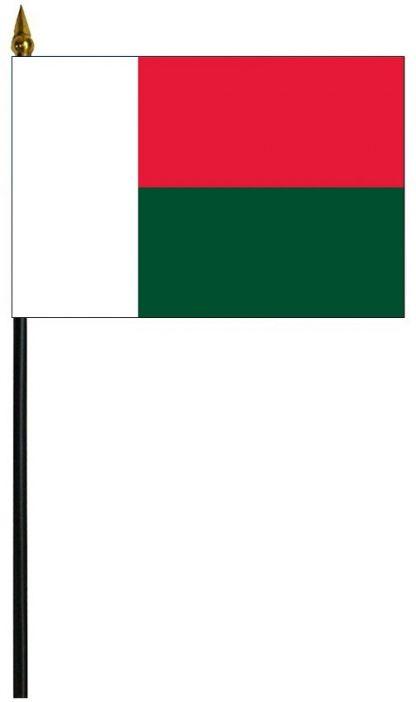 """MRF-46-MADAGASCAR Madagascar 4"""" x 6"""" Staff Mounted Rayon-0"""